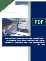 Guía para la planificación, ejecución y seguimiento de auditorias remotas