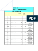 Tuesday Morning store closure list