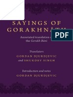 Sayings of Gorakhnath - Gordon Djurdjevic