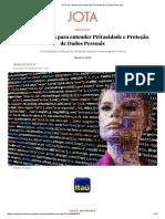 15 livros e textos para entender Privacidade e Dados Pessoais