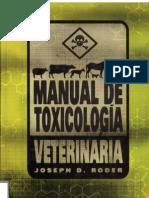 Manual de Toxicolog a Veterinaria
