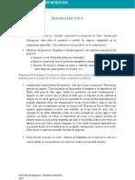 Guía Plan de Negocio - Proyecto Productivo 2018