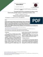 Development of an assessment framework for Operations Excellence