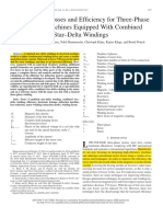 7 - 2017 Prediction of Losses and Efficiency for Three-Phase Induction Machines equipped with Combined Star-Delta Windings