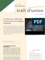 L'Institut de radiologie