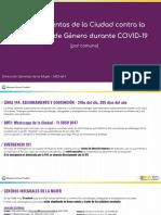 Kits Contactos y Dispositivos DGMUJ durante el aislamiento por coronavirus