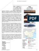 Pekín - Wikipedia, la enciclopedia libre