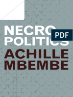 Achille Mbembe_ Steve Corcoran - Necropolitics-Duke University Press Books (2019)