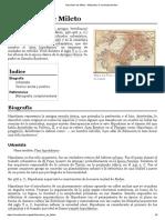 Hipodamo de Mileto - Wikipedia, la enciclopedia libre