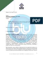 El documento de la denuncia del procurador contra el locutor Fabio Zuleta, quien denigró a las mujeres wayúu