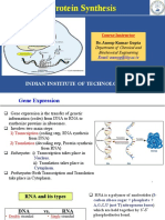 Lecture 8-9_Protein synthesis