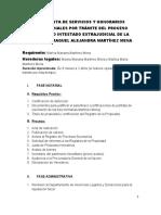 PROPUESTA DE HONORARIOS