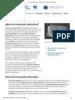 Artículo_-_Innovación educativa - Observatorio de Innovación Educativa-López-C-Heredia-Y-2017