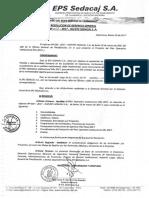 4.Empresa Prestadora de Servicios de Saneamiento de Cajamarca S.A. – EPS SEDACAJ. (pag 15,80)