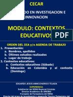 CONTEXTOS EDUCATIVOS colombia