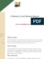 Coastal Gateway Company Profile