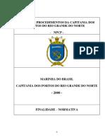 NORMAS E PROCEDIMENTOS DA CAPITANIA DOS PORTOS - NPCP-CPRN-Mod 15
