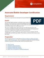 Associate Mobile Certification Guide