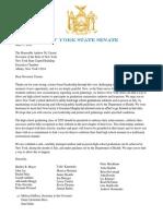 Senate Letter to Governor Cuomo Graduations