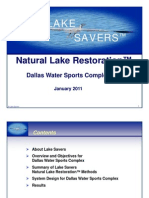 Dallas Water Sports Complex - Lake Savers - Clean Flo Presentation