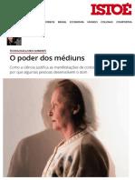 (2008) - O poder dos médiuns (ISTOÉ, out)