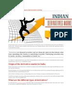 Indian derivatives market