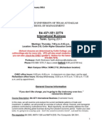 UT Dallas Syllabus for ba4371.5e1.11s taught by Keith Dickinson (kxd084000)