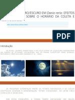 PREFERÊNCIA CLARO_ESCURO EM Danio rerio