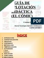 GUÍA DE EXPLOTACIÓN DIDÁCTICA NNTTAE 2010/2011 (EL CÓMIC)