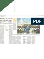 Fundos de pensão sob medida para pastores e atletas - Nov2010 - Brasil Economico