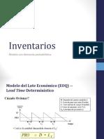 4 1 Modelos de Inventarios con demanda probabilística en la entrega 2017.ppt