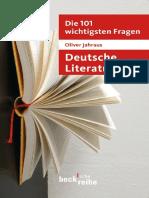 Becksche Reihe - Die 101 wichtigsten Fragen - Deutsche Literatur by Jahraus Oliver (z-lib.org).epub.pdf
