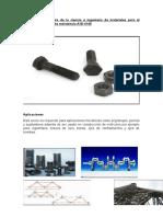 Análisis del tetraedro de la ciencia e ingeniería de materiales para el perno de acero de alta resistencia AISI 4140.docx