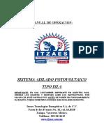 MANUAL DE OPERACION FOTOVOLTAICO ITZAES.doc