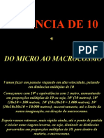 do micro ao macrocosmo- potencia de 10 - do atomo as galaxias