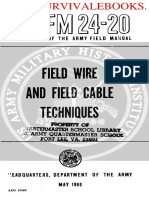Field Wire & Field Cable Techniques