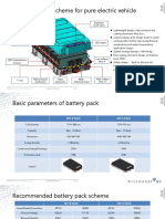 Battery Pack for vehicle