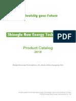 SHINEGLE Catalog 2018-full kit autos