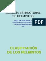 BIOLOG�A ESTRUCTURAL DE HELMINTOS