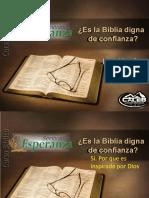 04-Es la Biblia digna de confianza