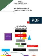 Hiperplasia endometrial CLASE GINECO.
