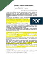 4 Apunte de Catedra Narrativas Graficas Construcción de la Noticia- Garcia F. Giusti