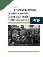 Segunda Guerra Mundial Resumen