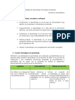 Taller estrategias de aprendizaje de lenguas extranjeras