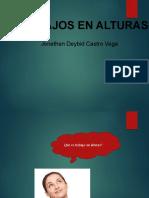 TRABAJOS EN ALTURAS D