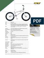 GT 2011BMX Bikes