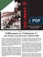 anarchistisches Jahrbuch 2007