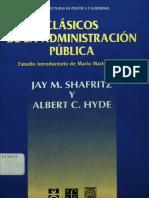 S3. White, Leonard. Introducción al estudio de la Administración Pública
