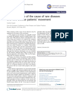 2012 - The_emergence_of_the_cause_of_rare_diseases_and_ra