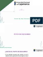 12. PUNTO DE EQUILIBRIO